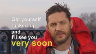 'Get yourself tucked up': Tom Hardy reads Valentine's Day bedtime story on CBeebies