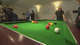 Les Thompson gets some respite at a new centre that helps carers