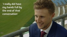 Joe Root: I was changing a nappy when England called