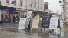 Monmouth traders protest advertising board charges