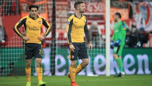 Champions League: Arsenal collapse in Munich to suffer 5-1 loss