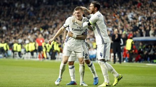 Champions League: Real Madrid 3-1 Napoli