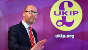 Paul Nuttall's website taken offline