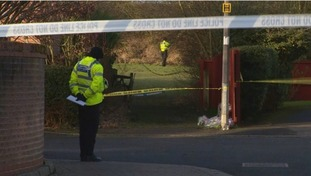 Police seal off area where Katie was found