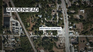Map of Braywick Cemetery