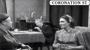 Watch: Corrie wishes rival soap's 'Dot' happy birthday