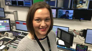 Aisling is settling in well at ITV News Anglia.