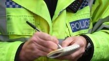 Pensioner dies after being hit by car in Powys