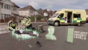 Fire service release virtual reality video to teach people about road safety