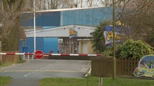 The incident happened at the Pontins Holiday Park.