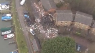 Osney Mead after the explosion
