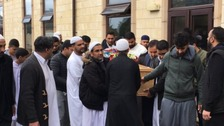 Irfan Wahid: Thousands attend funeral of teenager stabbed to death in Leeds