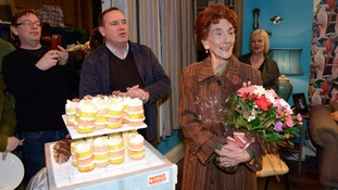 EastEnders stars throw surprise 90th birthday party for June Brown