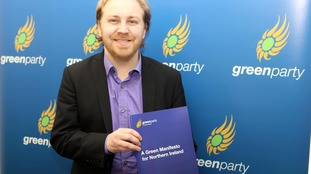 The Green Party launched its manifesto in south Belfast.