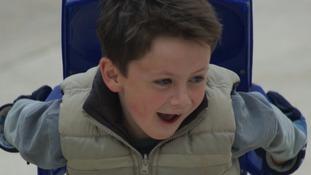 8-year-old Vinnie Barker