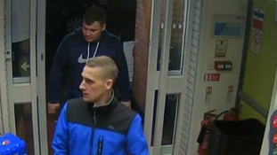 CCTV images released following robbery in town centre
