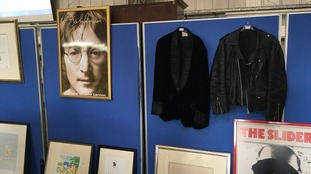 Jackets worn by Hendrix? Glasses worn by Lennon? All part of an auction happening in Ryedale
