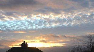 Barlby sky, near Selby.