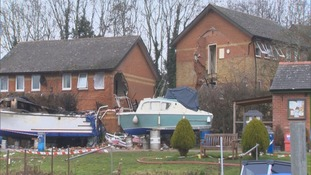 Osney Mead explosion aftermath