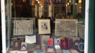 The front window of Bryars and Bryars