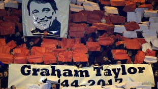 Tributes have been paid across the country for Graham Taylor.