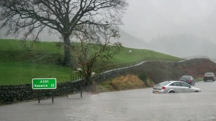 Flooding in Grasmere.