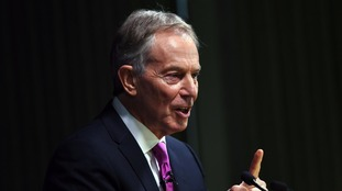 Labour accuse Blair of having 'contempt for democracy' after Brexit speech