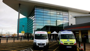 Possible disruption as Royal Derby Hospital entrance closed