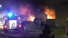 Six fire engines tackle blaze in Southampton