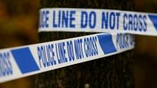 Police tape.