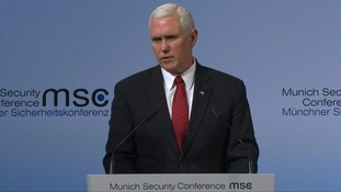 Pence attempts to reassure European allies over Trump presidency