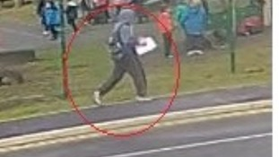 CCTV of man they want to speak to