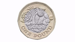 The new 12-sided pound coin