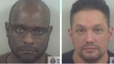 Two men jailed for producing £100,000 of cannabis