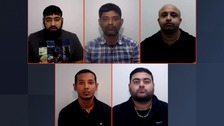 Rochdale gang jailed for 55 years for abusing three girls