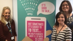 Young people are being encouraged to talk about health concerns with a new text service