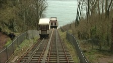 Babbacombe Cliff Railway under goes major refurbishment
