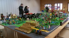 """Map"" of nature reserve built entirely from Lego!"