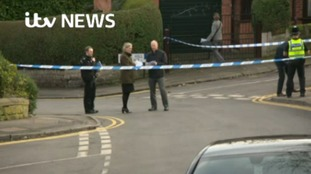 Police cordon is in place at Daniel Hill in Upperthorpe in Sheffield