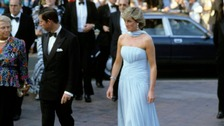 Princess Diana is seen at the Cannes Film Festival in May 1987