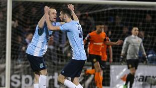 Ballymena beat Carrick to lift League Cup