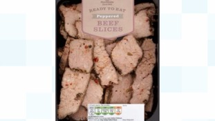 Morrisons Peppered Beef Slice packs recalled over listeria fears
