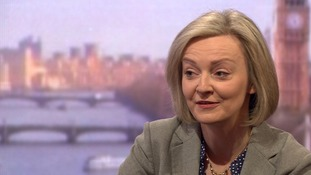 Liz Truss speaks to Andrew Marr.