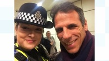 Gianfranco Zola 'surrounded' at Birmingham New Street after match