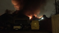 Fire in Openshaw