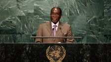 Robert Mugabe has been president of Zimbabwe since 1987.