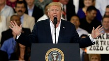 Trump cites non-existent Sweden terror attack at rally