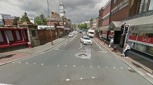 Witnesses sought after pair kicked and punched by gang of ten