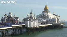 Man rescued after plunging into sea from Eastbourne pier