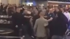 Fight breaks out at Leeds boxing event